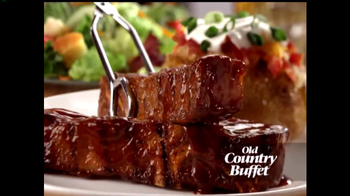 Old Country Buffet TV Spot, 'Blue Ribbon Baby Back Ribs' - Thumbnail 3
