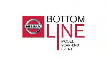2013 Nissan Pathfinder TV Spot, 'Bottom Line Model Year-End Event' - Thumbnail 4