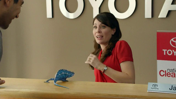 Toyota Clearance Event TV Spot, 'Chameleon' - 1690 commercial airings