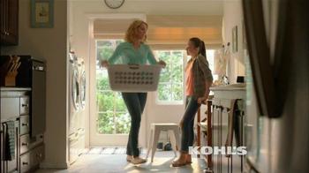 Kohl's TV Spot, 'Laundry & Kohl's Cash' - Thumbnail 1
