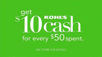 Kohl's TV Spot, 'Laundry & Kohl's Cash' - Thumbnail 8