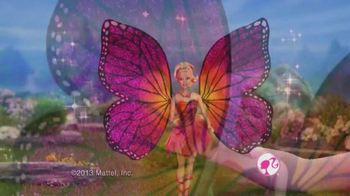 Barbie Mariposa & the Fairy Princess Blu-ray and DVD TV Spot - Thumbnail 4