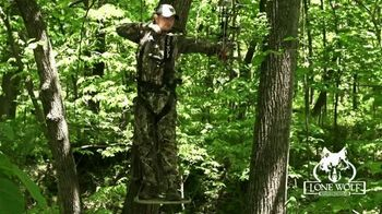 Lone Wolf Portable Tree Stands TV Spot