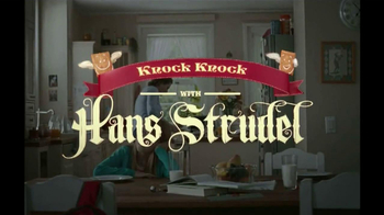 Pillsbury Toaster Strudel TV Spot, 'Door Kick With Hans Strudel' - Thumbnail 1