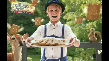 Pillsbury Toaster Strudel TV Spot, 'Door Kick With Hans Strudel' - 5045 commercial airings