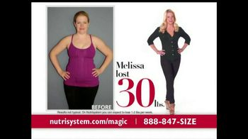 Nutrisystem TV Spot Featuring Melissa Joan Hart - 874 commercial airings