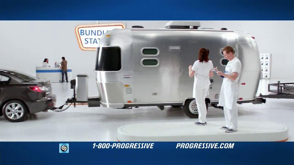 Geico Life Insurance >> Progressive TV Commercial 'RV Bundling' - iSpot.tv
