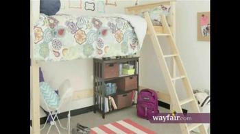 Wayfair TV Spot, 'Bring Your Dorm to Life' - Thumbnail 6