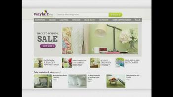 Wayfair TV Spot, 'Bring Your Dorm to Life' - Thumbnail 9