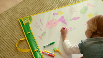 Crayola Doodle Magic Mat TV Spot, 'A Four Year Old and Markers' - Thumbnail 2