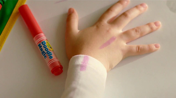 Crayola Doodle Magic Mat TV Spot, 'A Four Year Old and Markers' - Thumbnail 6