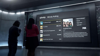 XFINITY X1 Entertainment Operating System TV Spot, 'Sexy' Ft. Mindy Kaling - Thumbnail 1
