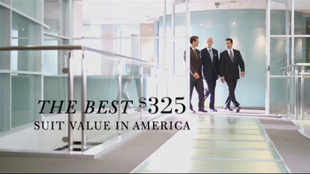 JoS. A. Bank TV Spot, 'Signature Suits $325' - 419 commercial airings