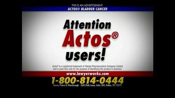 Ferrer, Poirot and Wansbrough TV Spot, 'Actos Bladder Cancer' - Thumbnail 2