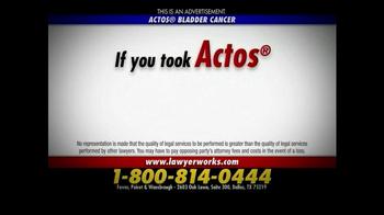 Ferrer, Poirot and Wansbrough TV Spot, 'Actos Bladder Cancer' - Thumbnail 8