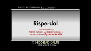 Pulaski & Middleman TV Spot, 'Risperdal'