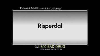 Pulaski & Middleman TV Spot, 'Risperdal' - Thumbnail 1