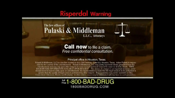 Pulaski & Middleman TV Spot, 'Risperdal' - Thumbnail 8