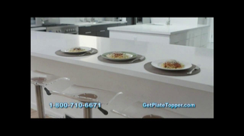 Plate Topper Food Storage Solution TV Spot - Thumbnail 7