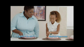 Plate Topper Food Storage Solution TV Spot - Thumbnail 8