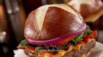Wendy's Pretzel Bacon Cheeseburger TV Spot, 'Love Songs' - Thumbnail 7