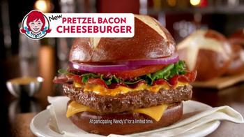 Wendy's Pretzel Bacon Cheeseburger TV Spot, 'Love Songs' - Thumbnail 9