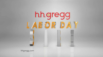 h.h. gregg Labor Day Sale TV Spot, 'Working' - Thumbnail 4