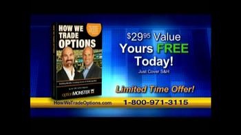 OptionMonster Holding Inc TV Spot - Thumbnail 6