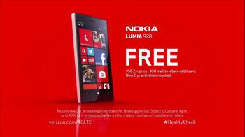 Verizon Nokia Lumia 928 TV Spot, 'Reality Check' - Thumbnail 9