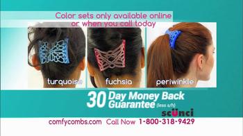 Scunci Comfy Combs TV Spot - Thumbnail 10