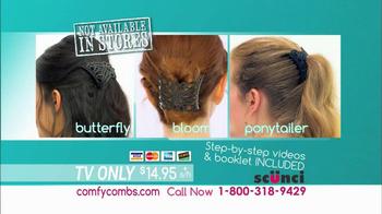 Scunci Comfy Combs TV Spot - Thumbnail 9