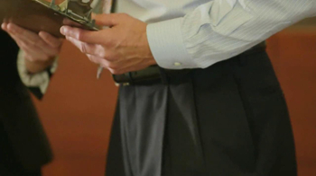 JoS. A. Bank Signature Garbardine Pants TV Spot - Thumbnail 3