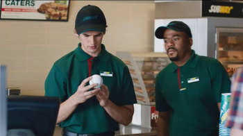 Subway TV Spot, 'Carrier Baseball' Featuring Mike Trout - Thumbnail 4