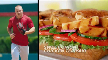 Subway TV Spot, 'Carrier Baseball' Featuring Mike Trout - Thumbnail 7