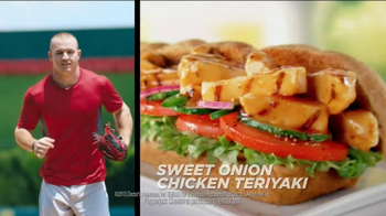 Subway TV Spot, 'Carrier Baseball' Featuring Mike Trout - Thumbnail 8