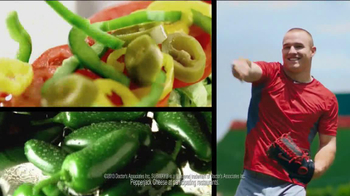 Subway TV Spot, 'Carrier Baseball' Featuring Mike Trout - 155 commercial airings