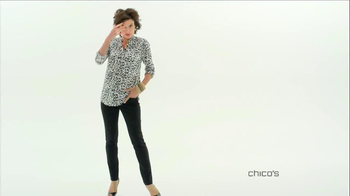 Chico's So Slimming Collection TV Spot, 'Secretly Chic' - Thumbnail 2