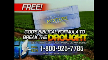 Peter Popoff Ministries Miracle Mixture TV Spot
