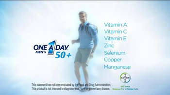 One A Day Men's 50+ TV Spot, 'Hiking' - Thumbnail 9