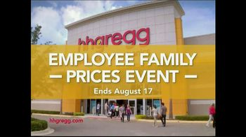 h.h. gregg Employee Family Prices Event TV Spot