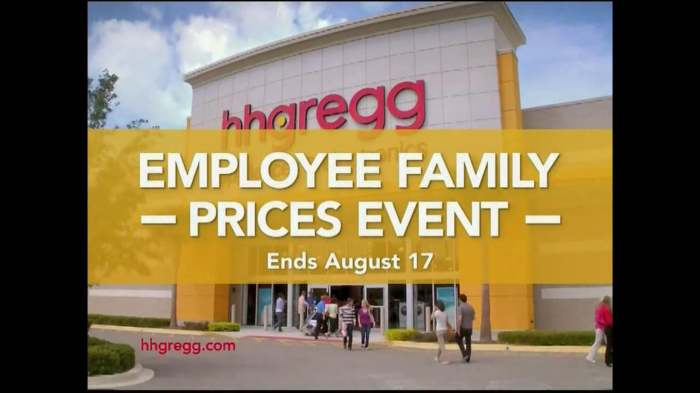 H H Gregg Employee Family Prices Event Tv Spot Ispot Tv