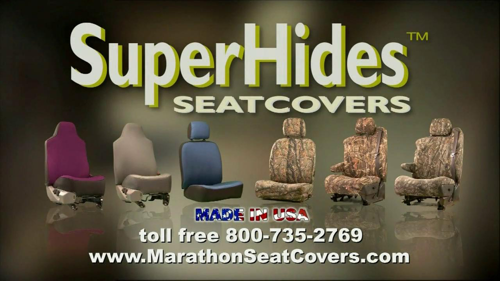 Superhides Seat Covers >> Marathon Seat Covers Tv Commercial Video