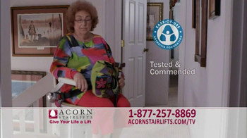 Acorn Stairlifts TV Spot, 'Independence' - Thumbnail 8