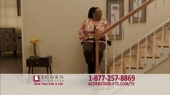 Acorn Stairlifts TV Spot, 'Independence'