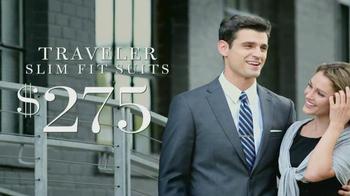 JoS. A. Bank Traveler Slim Fit Suit TV Spot - Thumbnail 5