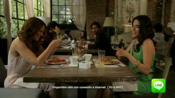 Line App TV Spot, 'Restaurante' [Spanish] - Thumbnail 10