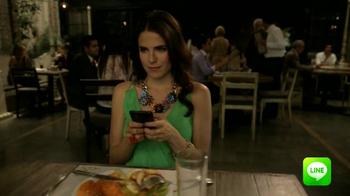 Line App TV Spot, 'Restaurante' [Spanish] - Thumbnail 8