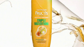 Garnier Fructis Triple Nutrition TV Spot - Thumbnail 2