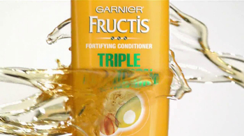 Garnier Fructis Triple Nutrition TV Spot - Thumbnail 4