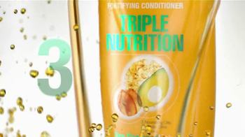 Garnier Fructis Triple Nutrition TV Spot - Thumbnail 5